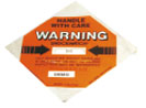 The warning lable