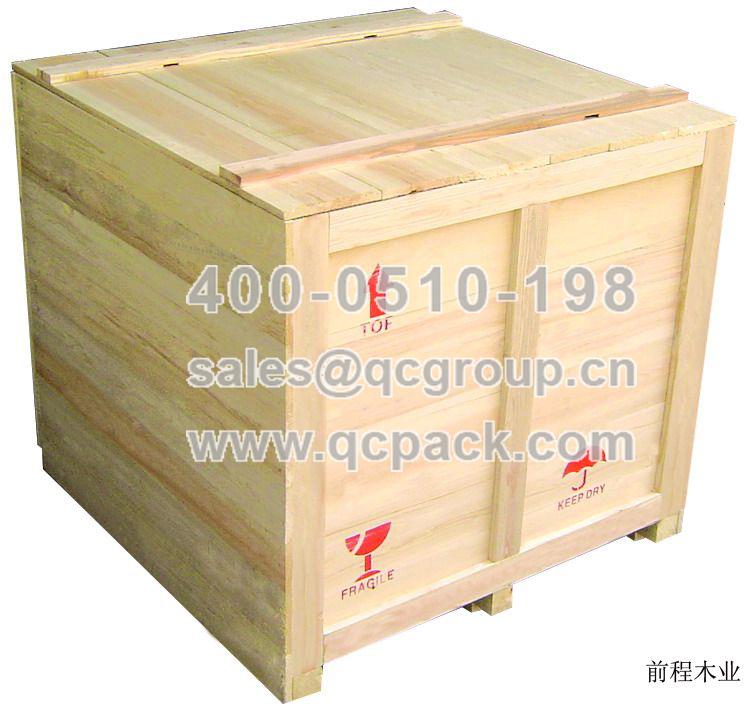 外框架木箱