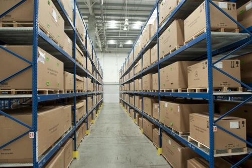 仓储物流包装现场图2